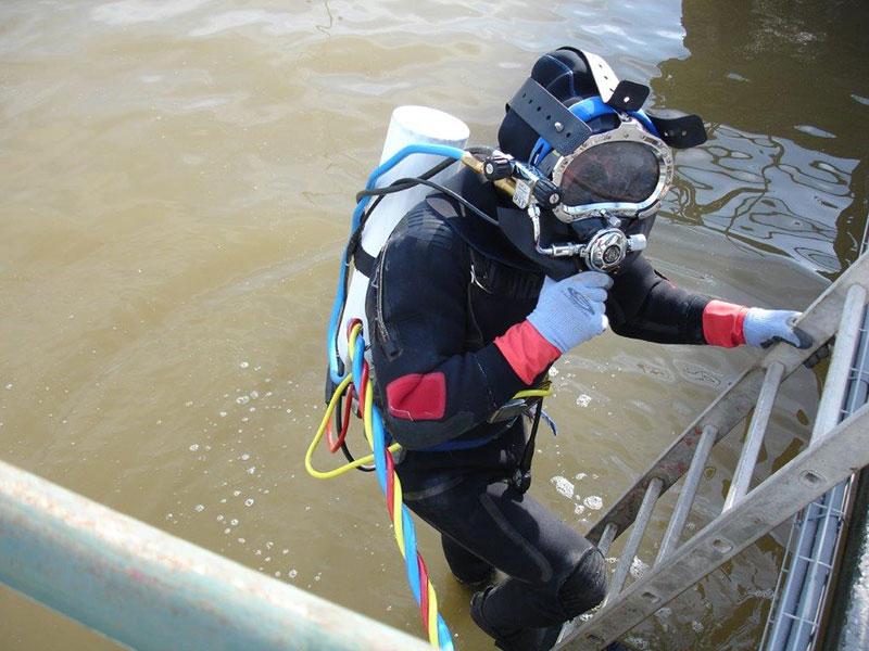 Trabalhos Subaquáticos - Aplicação de Explosivos