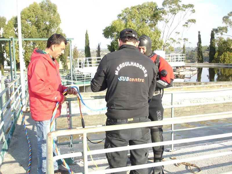 Trabalhos Subaquáticos - Decapagem e Limpeza por Hidrojatos